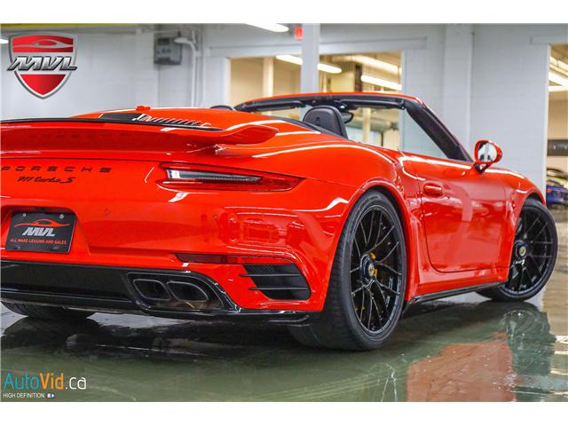 2017 Porsche 911 Turbo S (Stk: ) in Oakville - Image 2 of 40