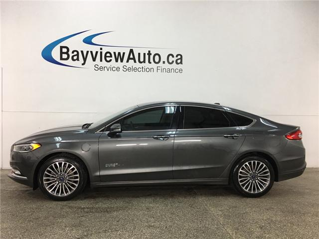 2017 Ford Fusion Energi SE Luxury (Stk: 32941W) in Belleville - Image 1 of 23