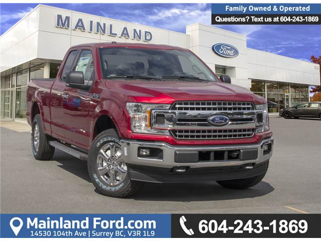 2018 Ford F-150 XLT (Stk: 8F12385) in Surrey - Image 1 of 27