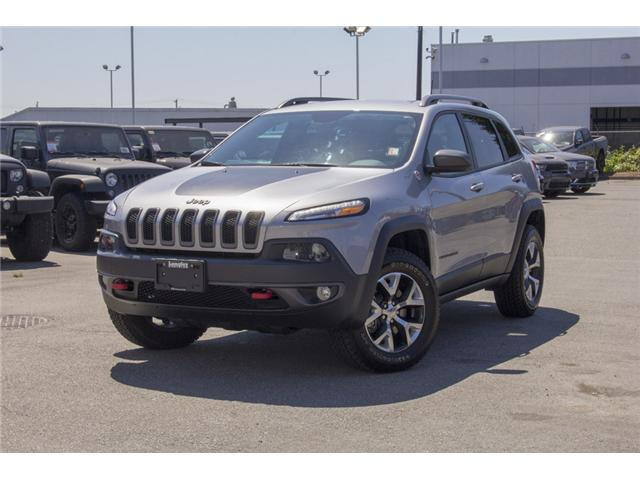 2017 Jeep Cherokee Trailhawk (Stk: EE895680) in Surrey - Image 3 of 27