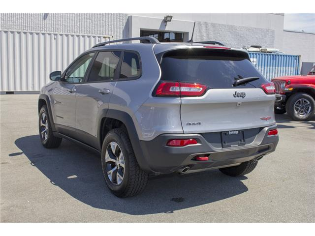 2017 Jeep Cherokee Trailhawk (Stk: EE895680) in Surrey - Image 5 of 27