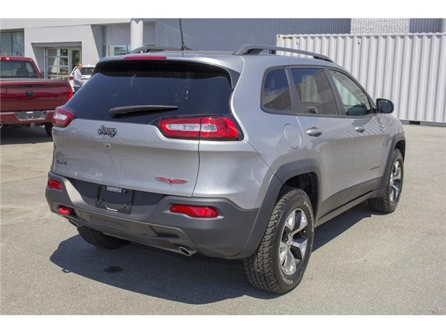 2017 Jeep Cherokee Trailhawk (Stk: EE895680) in Surrey - Image 7 of 27