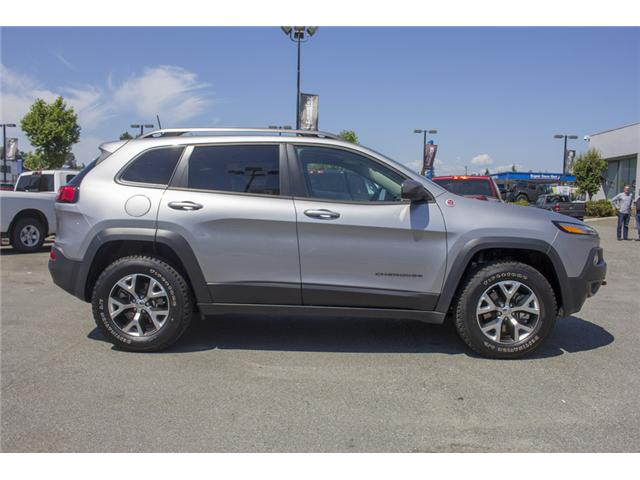 2017 Jeep Cherokee Trailhawk (Stk: EE895680) in Surrey - Image 8 of 27