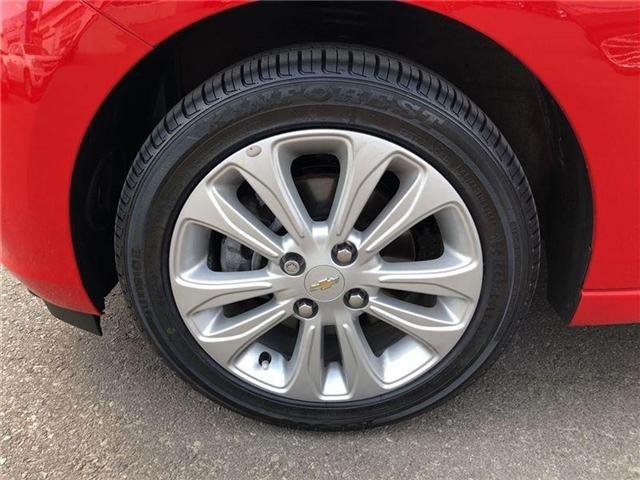 2016 Chevrolet Spark AUTO BLUETOOTH REAR CAMERA  (Stk: PL17213) in BRAMPTON - Image 10 of 20