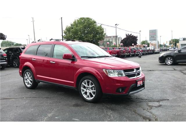 2018 Dodge Journey GT Seven Passenger Heated Leather AWD (Stk: 44528) in Windsor - Image 2 of 11