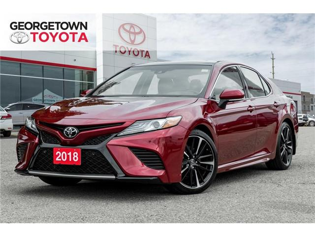 2018 Toyota Camry  (Stk: 18-03843) in Georgetown - Image 1 of 20