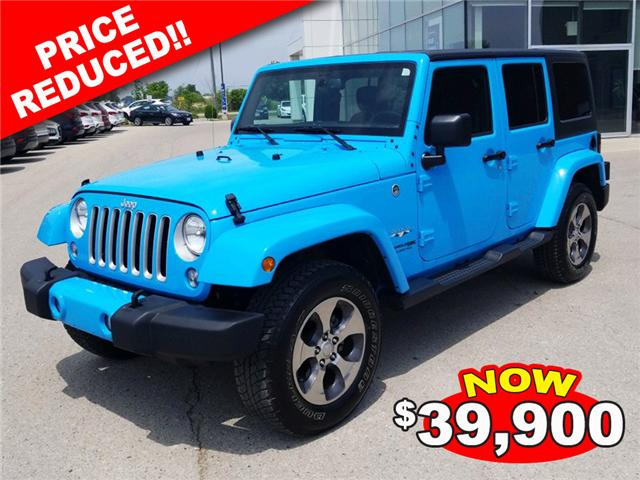 2018 Jeep Wrangler JK Unlimited Sahara (Stk: 85048) in Goderich - Image 1 of 16