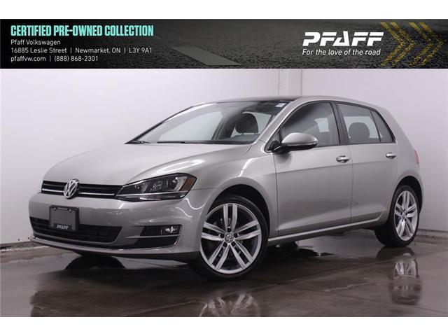 2017 Volkswagen Golf 1.8 TSI Highline (Stk: 19231) in Newmarket - Image 1 of 22