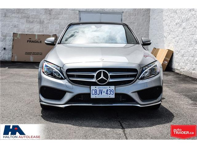 2015 Mercedes-Benz C-Class Base (Stk: 309895) in Burlington - Image 2 of 22