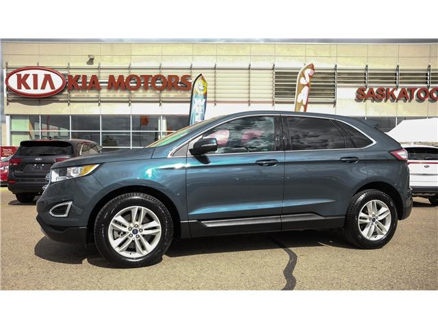 Ford Edge Sel Accident Free One Owner Sync Backup Camera Dual Climate Pan Sunroof Blindspot Rear Cro At  For Sale In Saskatoon