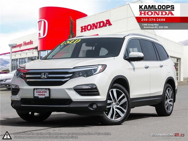 2017 Honda Pilot Touring (Stk: 14051U) in Kamloops - Image 1 of 25