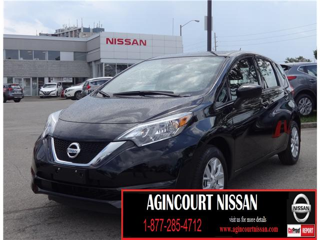 2018 Nissan Versa Note 1.6 SV (Stk: N12163) in Scarborough - Image 1 of 19