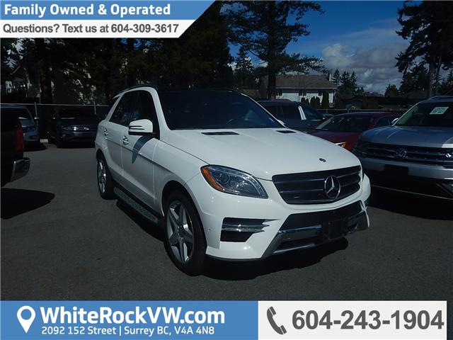 2015 Mercedes-Benz M-Class Base (Stk: JT108464A) in Surrey - Image 1 of 22