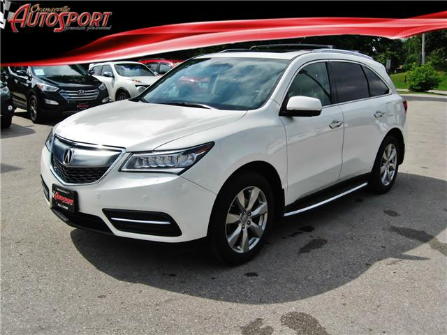 2015 Acura MDX Elite Package (Stk: 1385) in Orangeville - Image 1 of 21