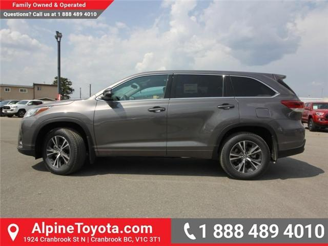 2018 Toyota Highlander LE (Stk: S884356) in Cranbrook - Image 2 of 16