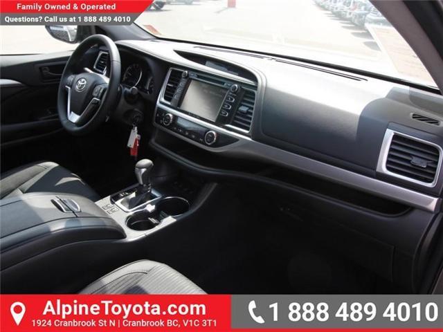 2018 Toyota Highlander LE (Stk: S884356) in Cranbrook - Image 10 of 16