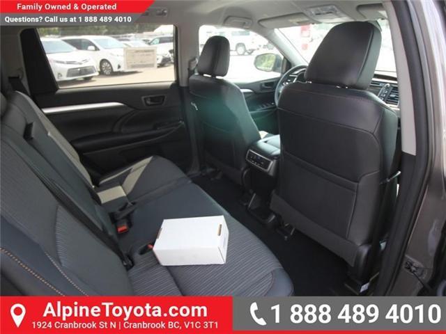 2018 Toyota Highlander LE (Stk: S884356) in Cranbrook - Image 11 of 16