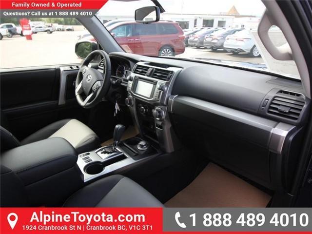 2018 Toyota 4Runner SR5 (Stk: 5591531) in Cranbrook - Image 10 of 17