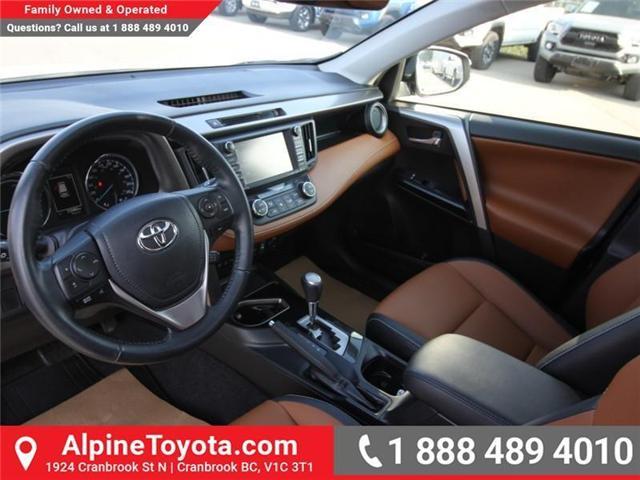 2016 Toyota RAV4 Hybrid Limited (Stk: D002249M) in Cranbrook - Image 9 of 20