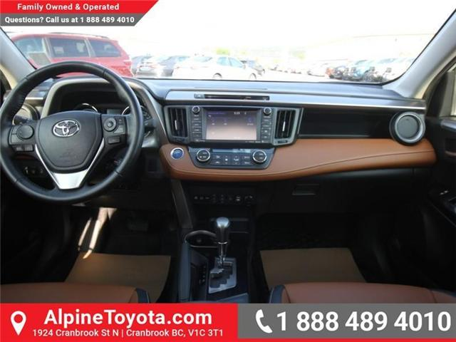 2016 Toyota RAV4 Hybrid Limited (Stk: D002249M) in Cranbrook - Image 10 of 20
