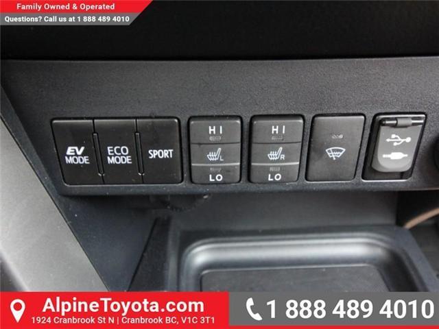 2016 Toyota RAV4 Hybrid Limited (Stk: D002249M) in Cranbrook - Image 15 of 20
