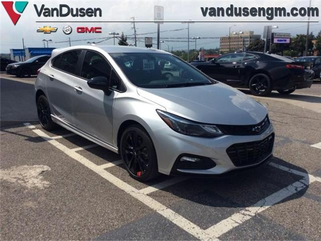 2018 Chevrolet Cruze LT Auto (Stk: 183891) in Ajax - Image 1 of 20