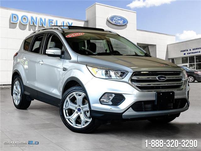 2018 Ford Escape Titanium (Stk: DR547) in Ottawa - Image 1 of 27
