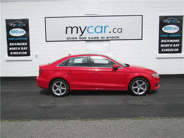 2015 Audi A3 1.8T Komfort (Stk: 180973) in Kingston - Image 1 of 14