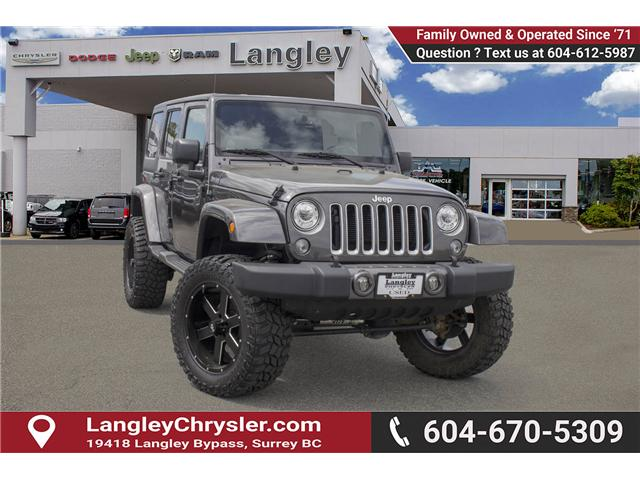 2017 Jeep Wrangler Unlimited Sahara (Stk: J251256AA) in Surrey - Image 1 of 25