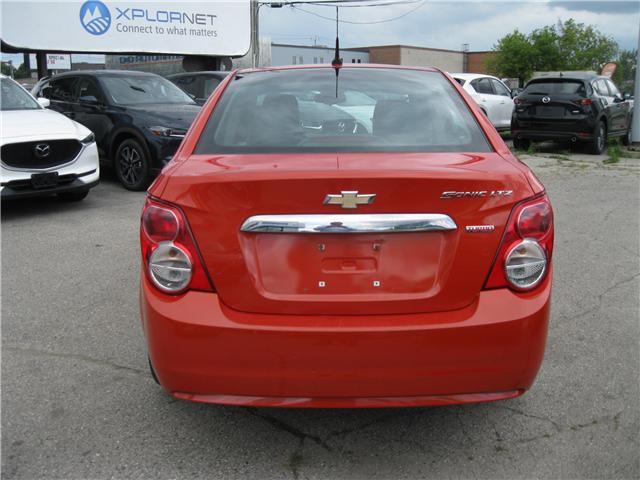 2012 Chevrolet Sonic LTZ (Stk: 18091A) in Stratford - Image 4 of 21