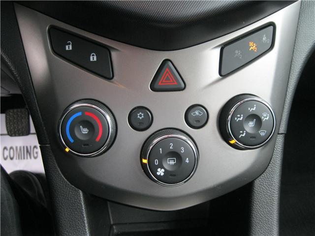 2012 Chevrolet Sonic LTZ (Stk: 18091A) in Stratford - Image 14 of 21