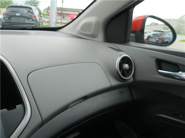 2012 Chevrolet Sonic LTZ (Stk: 18091A) in Stratford - Image 16 of 21