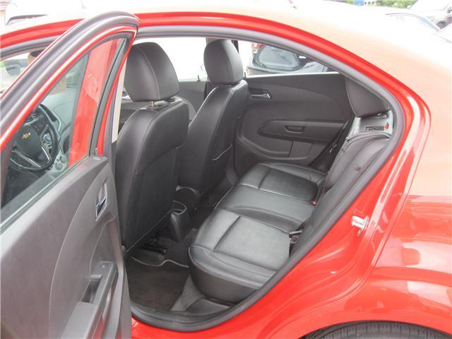 2012 Chevrolet Sonic LTZ (Stk: 18091A) in Stratford - Image 18 of 21