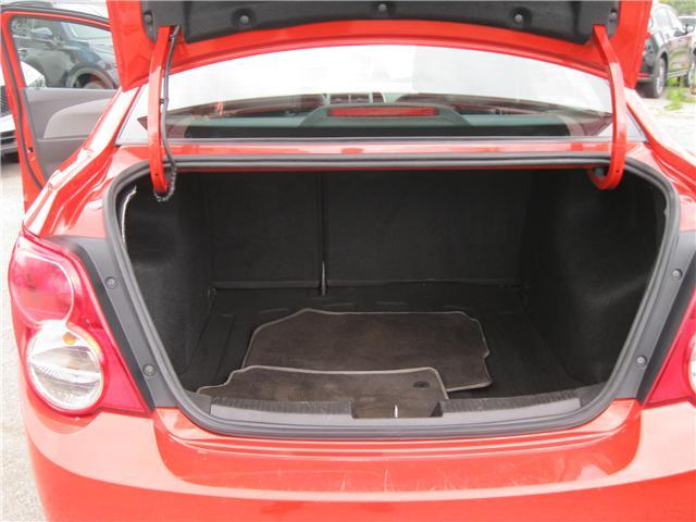 2012 Chevrolet Sonic LTZ (Stk: 18091A) in Stratford - Image 19 of 21