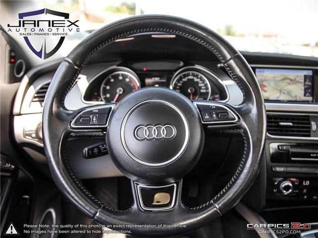 2015 Audi A5 2.0T Technik (Stk: 18455) in Ottawa - Image 14 of 29