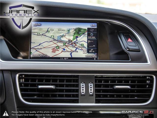 2015 Audi A5 2.0T Technik (Stk: 18455) in Ottawa - Image 21 of 29