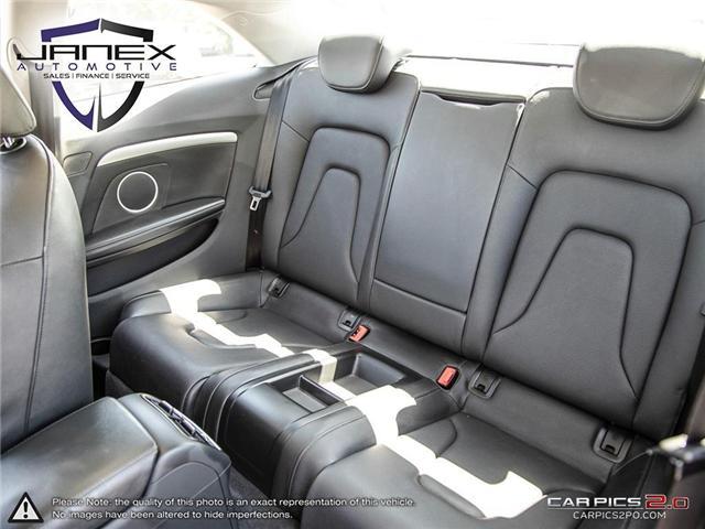 2015 Audi A5 2.0T Technik (Stk: 18455) in Ottawa - Image 23 of 29