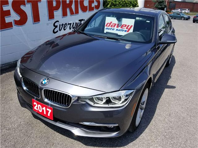2017 BMW 330 i xDrive (Stk: 18-476) in Oshawa - Image 1 of 20