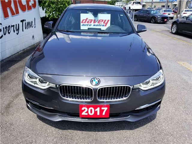 2017 BMW 330 i xDrive (Stk: 18-476) in Oshawa - Image 2 of 20