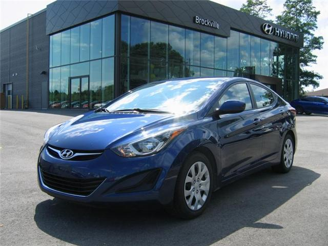 2016 Hyundai Elantra GL (Stk: R8018A) in Brockville - Image 1 of 11