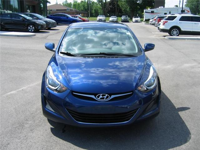 2016 Hyundai Elantra GL (Stk: R8018A) in Brockville - Image 2 of 11