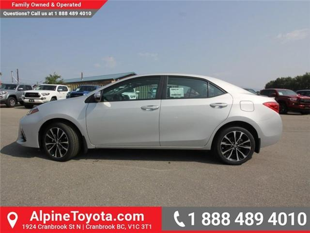 2019 Toyota Corolla SE (Stk: C132187) in Cranbrook - Image 2 of 17