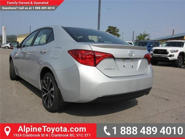 2019 Toyota Corolla SE (Stk: C132187) in Cranbrook - Image 3 of 17