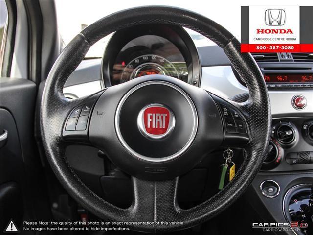 2014 Fiat 500 Sport (Stk: 18877A) in Cambridge - Image 14 of 27
