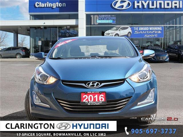 2016 Hyundai Elantra Limited (Stk: 18358A) in Clarington - Image 2 of 27