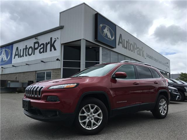 2016 Jeep Cherokee North (Stk: 16-44774) in Barrie - Image 1 of 28
