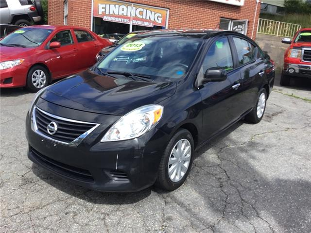 2013 Nissan Versa 1.6 SV (Stk: -) in Dartmouth - Image 1 of 12