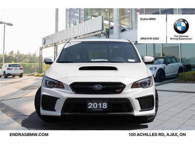 2018 Subaru WRX STI Sport-tech w/Lip (Stk: 20315A) in Ajax - Image 2 of 22