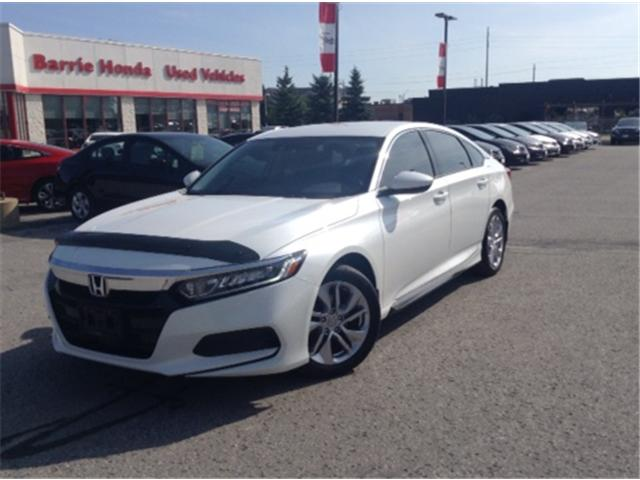 2018 Honda Accord LX (Stk: 18445) in Barrie - Image 1 of 16