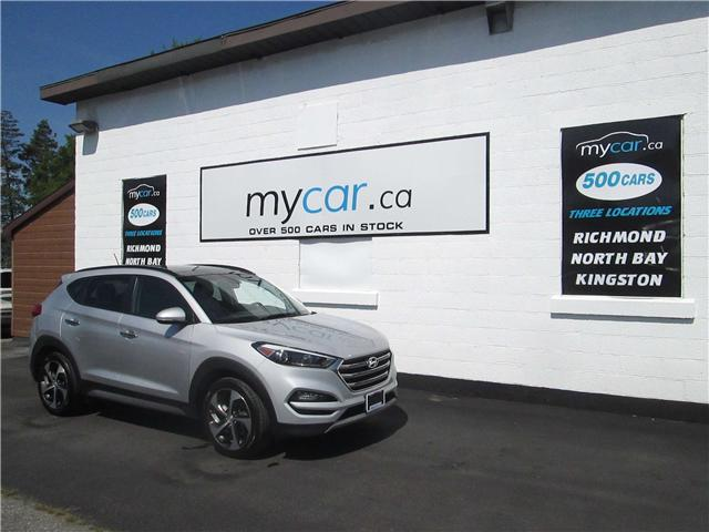 2017 Hyundai Tucson SE (Stk: 180992) in Kingston - Image 1 of 10